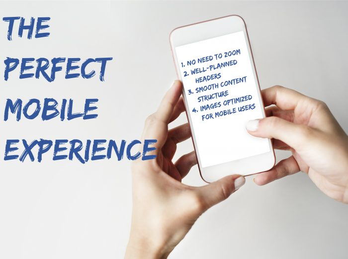 Creating the Perfect Mobile Experience