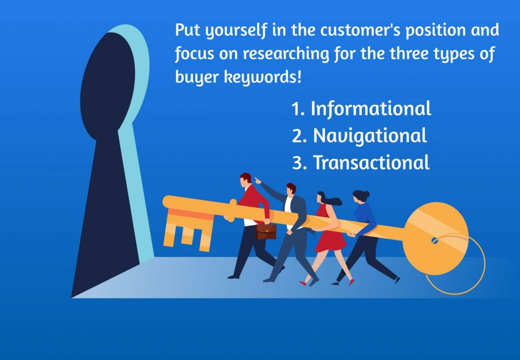 Focus on Buyer Keywords