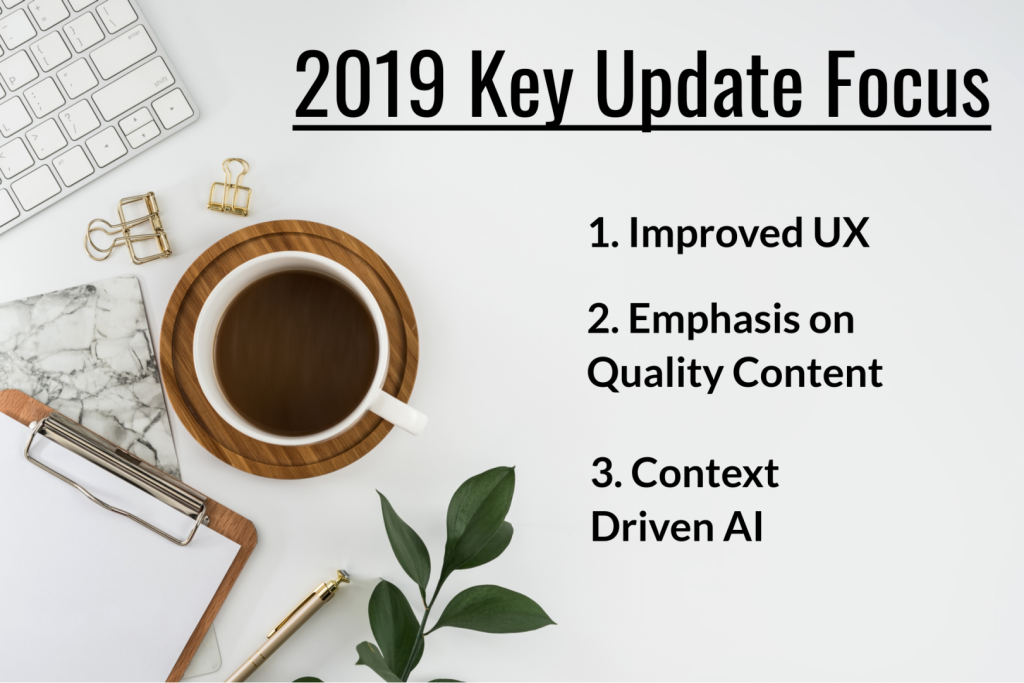 2019 Key Update Focus