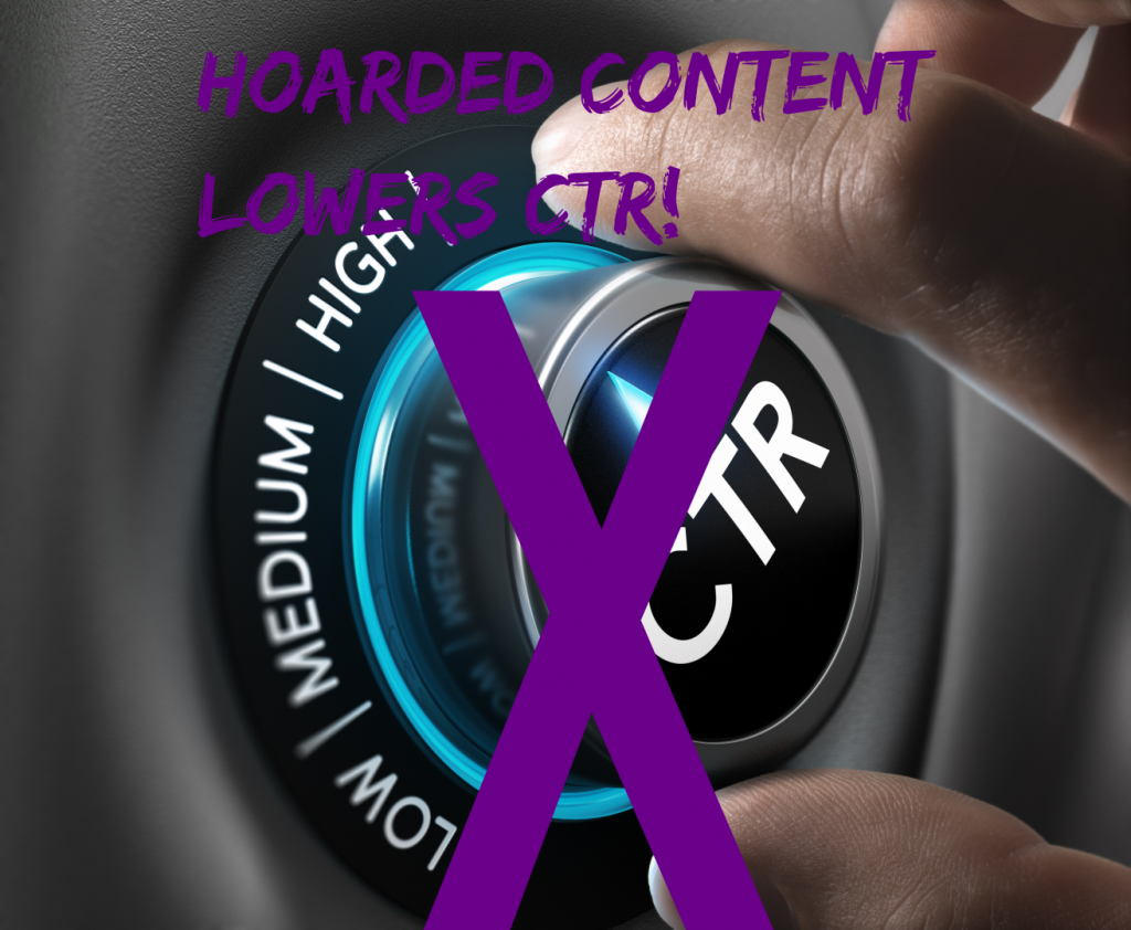 Older Content Can Clog Up Your CTR