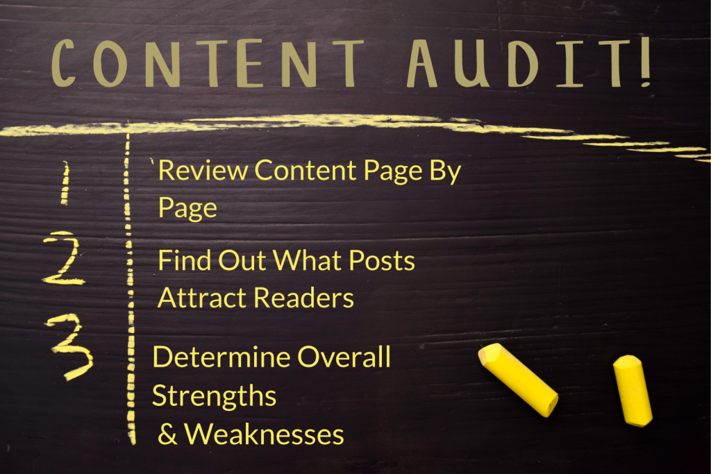 Tips for a Content Audit