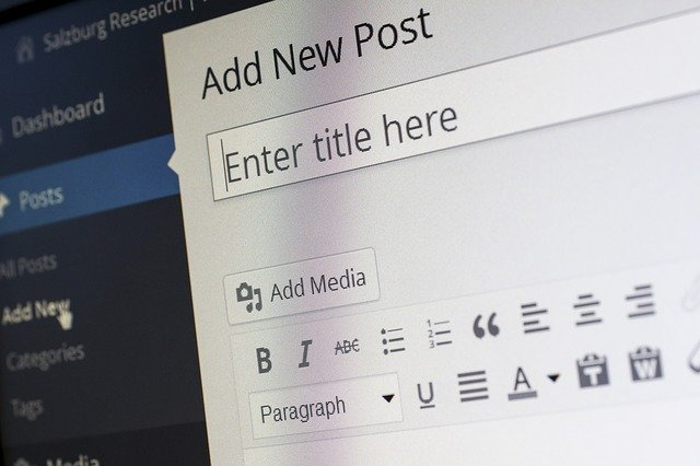 Content is simple to create in WordPress