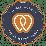 upcity top seo agency award