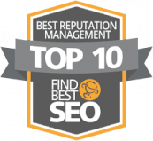 best reputation management badge find best seo