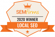 Local SEO badge from SEM firms