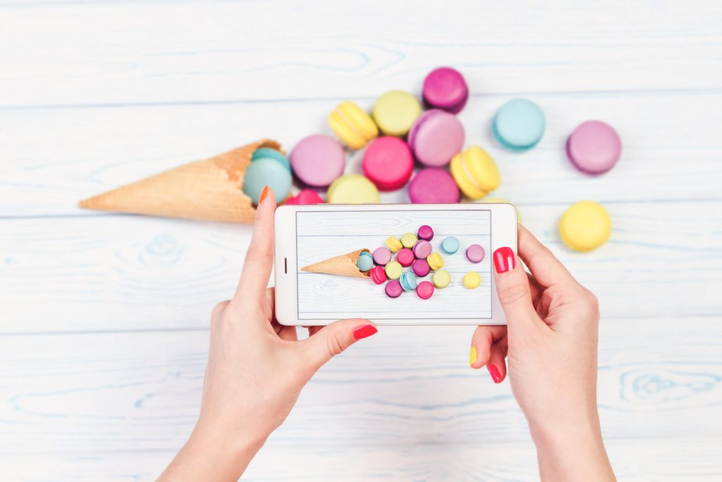 Taking Pictures Of Macarons For Social Media