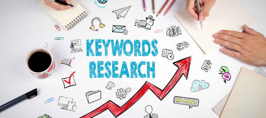 People Conducting Keyword Research
