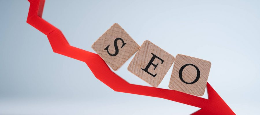 SEO Going In Negative Direction